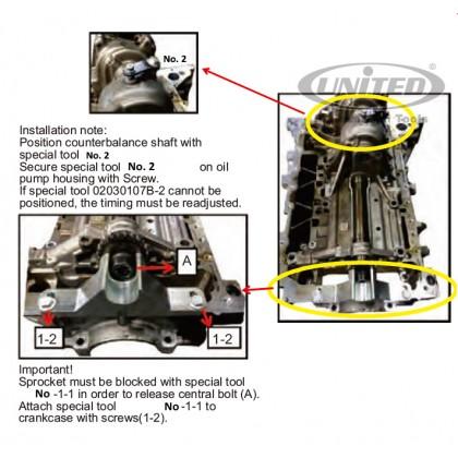 UNT-B4279       BMW OIL PUMP REMOVER & INSTALLER (N20)