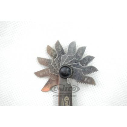 UNT-5200 SCREW PITCH GAUGE (19BLADES)