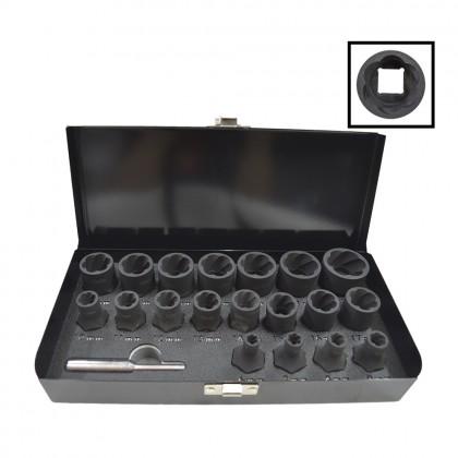 UNT-1041      TWIST SOCKET SET (6 - 27 MM)