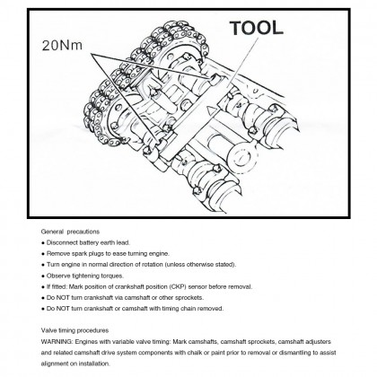 UNT-P6778   PORSCHE TIMING TOOL SET (3.0DS / 3.0S / 3.6)