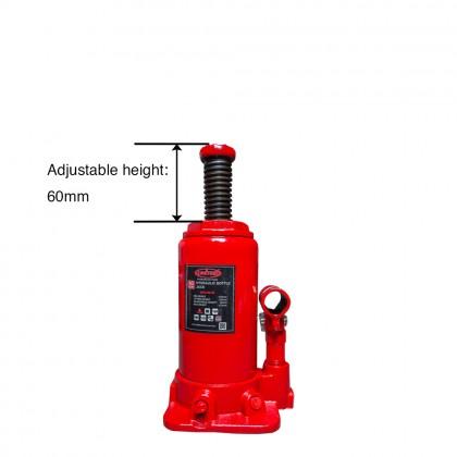 UHE-HBJ10      10 TON HYDRAULIC BOTTLE JACK
