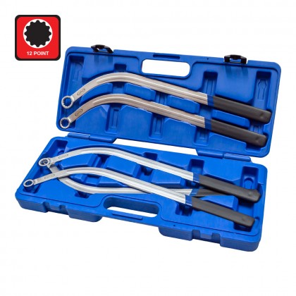 UNT-170A5 PCS PULLEY HOLDER WRENCH SET (12P)