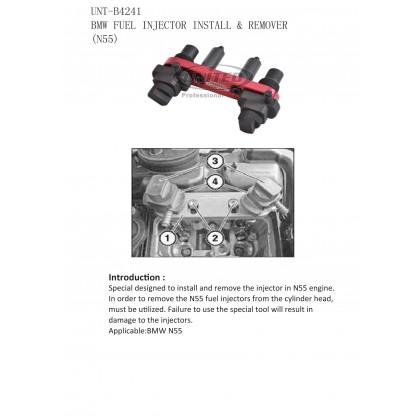 UNT-B4241BMW FUEL INJECTOR INSTALLER & REMOVER (N55)