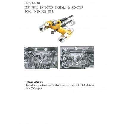 UNT-B4336 BMW FUEL INJECTOR INSTALLER & REMOVER TOOL (N20, N52)