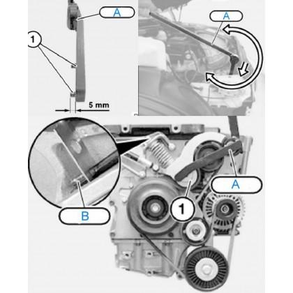 UNT-B4804BMW/ MINI COOPER SERPENTINE BELT TOOL KIT (S/W11)