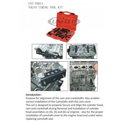 UNT-V0011VOLVO TIMING TOOL KIT (850, 960, S40, S70 & S90)