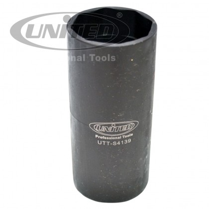 "UTT-S4139	SCANIA ELECTROMAGNETIC INJECTOR CAP SOCKET 1/2""X8PX38MM"