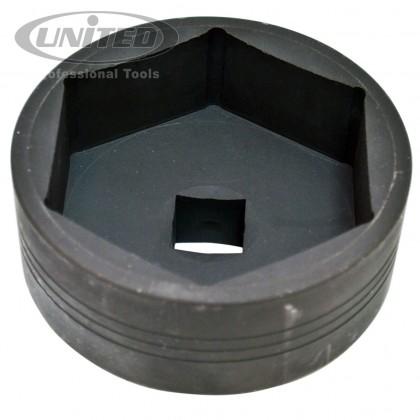 """UTT-V5152    1"""" VOLVO FH REAR AXLE NUT SOCKET (6P x 95MM)"""